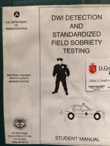 HGN Field Sobriety Tests